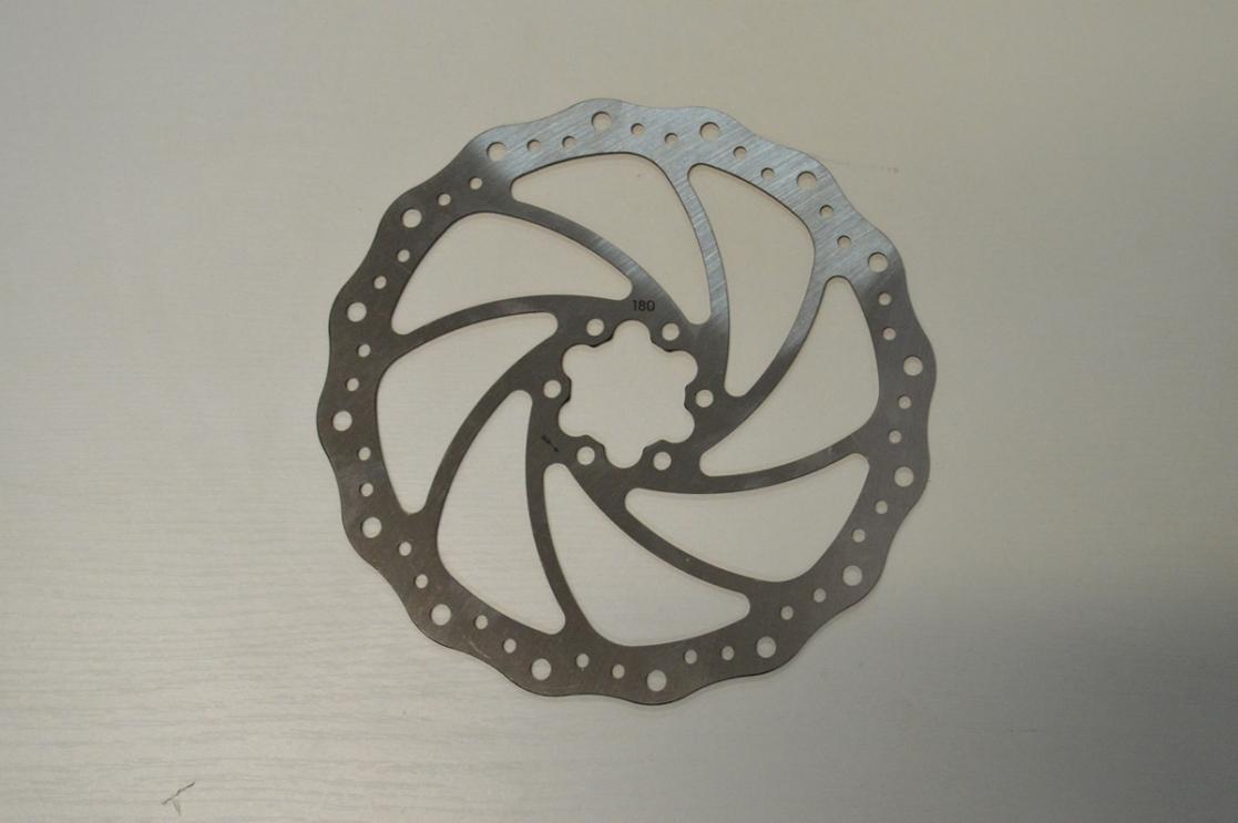 Ротор диск.тормоза 6 болт 180мм. Shimano RT-66