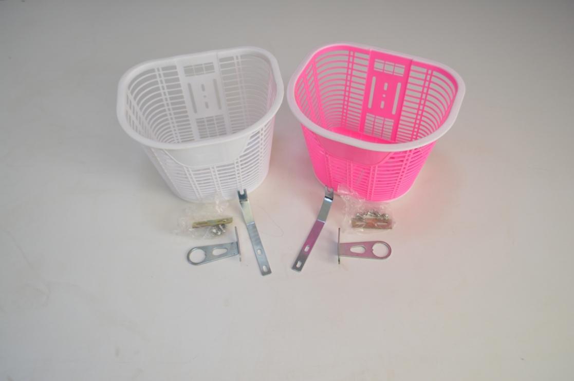 Велокорзина детская пластиковая Heam Girl, код. 40152