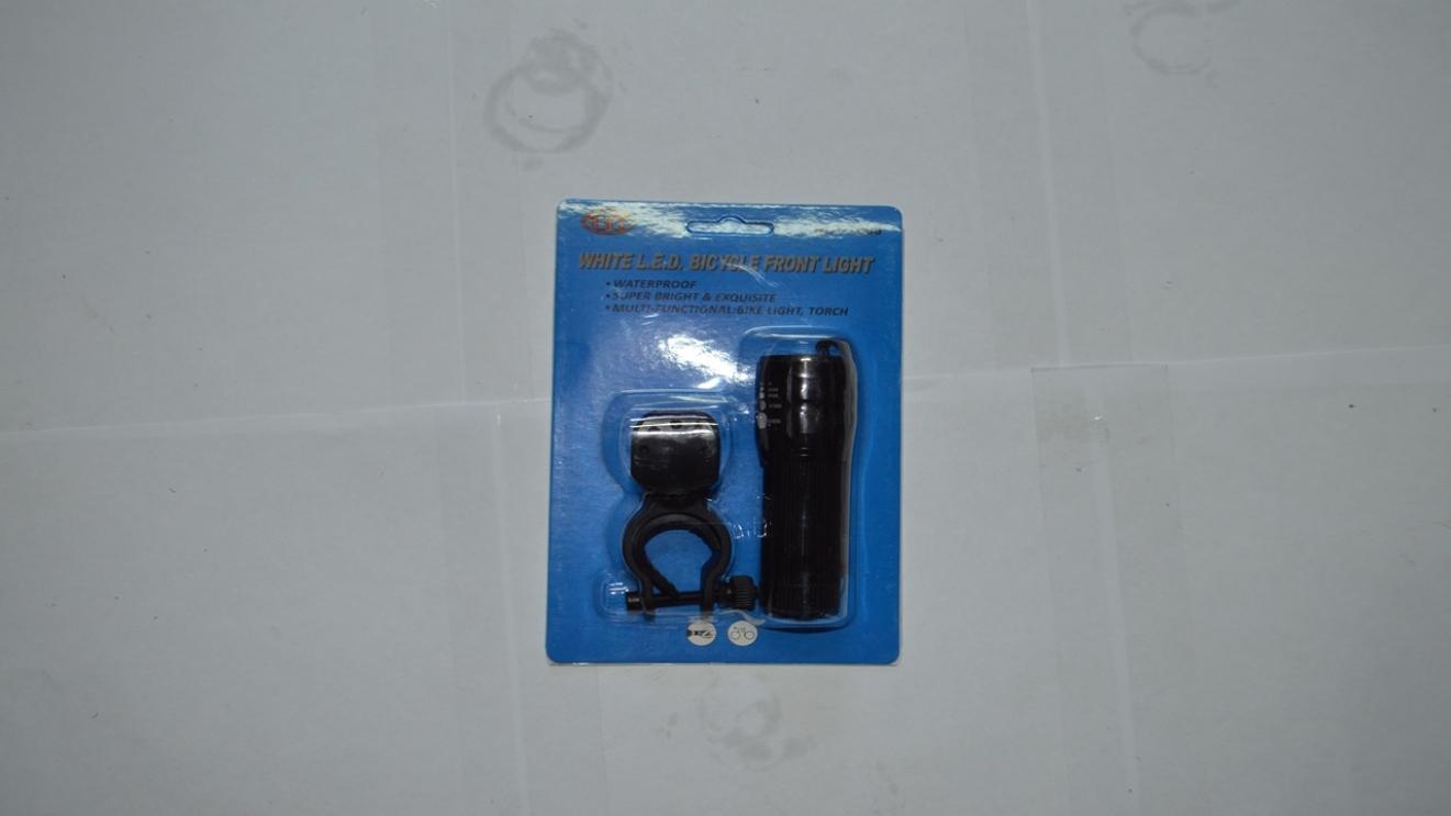 Фара передняя, алюминиевая, ближний/дальний свет, код 3265350